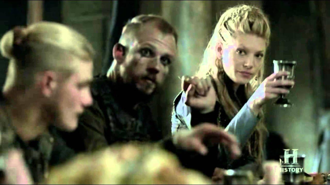 vikingos brindis fiesta