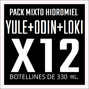 Pack mixto hidromiel yule+odin+loki